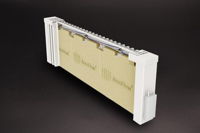 AeroFlow® Elektroheizung SLIM TALL 1600 mit FlexiSmart-Steuerung