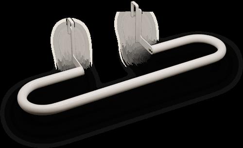 erstklassiger Handtuchhalter für Aeroflow Elektroheizungen