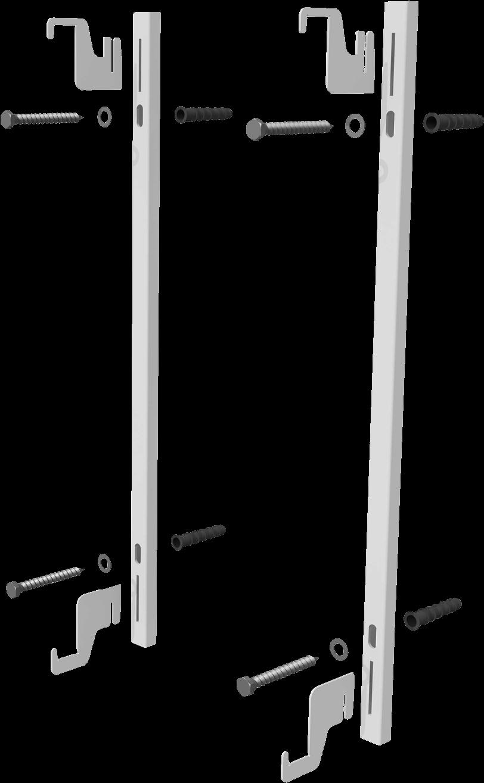 Hochwertige Wandhalterung WHF-325 für Aeroflow Elektroheizungen