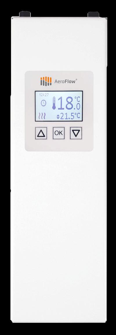Austauschbares Seitenteil SN3 mit FlexiSmart für Aeroflow Elektroheizungen