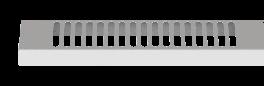 Edle Heizkörper-Abdeckung für Aeroflow Elektroheizungen MIDI / SLIM 1200